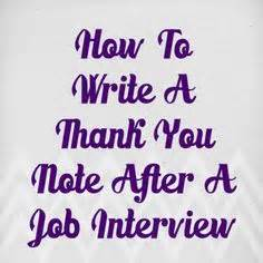 How to write a business interview thank you letter